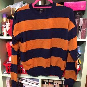 Brand new striped sweater